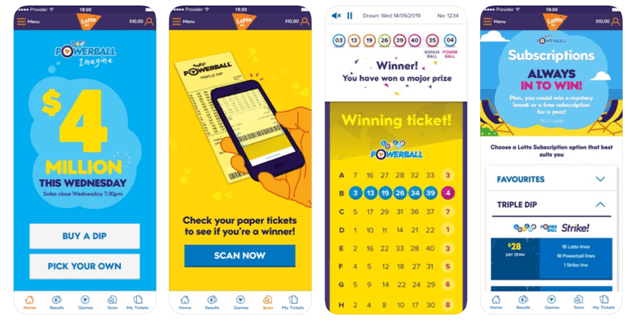 Play powerball lotto with NZ App