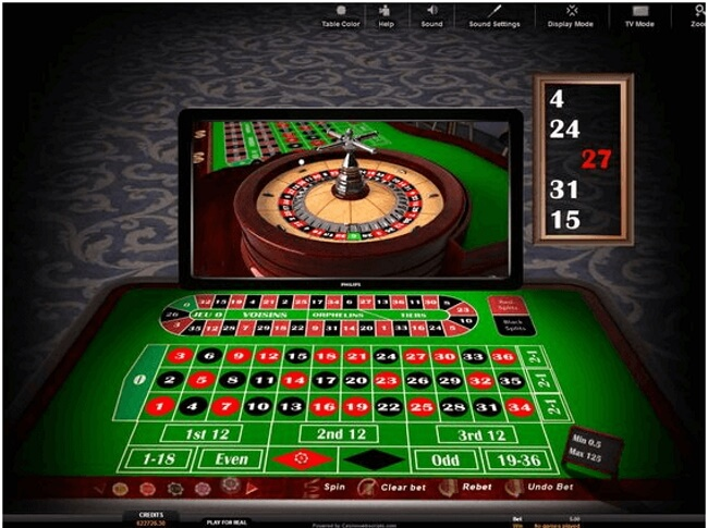 Online casinos offering roulette tables $5