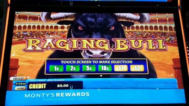 Raging Bull pokies