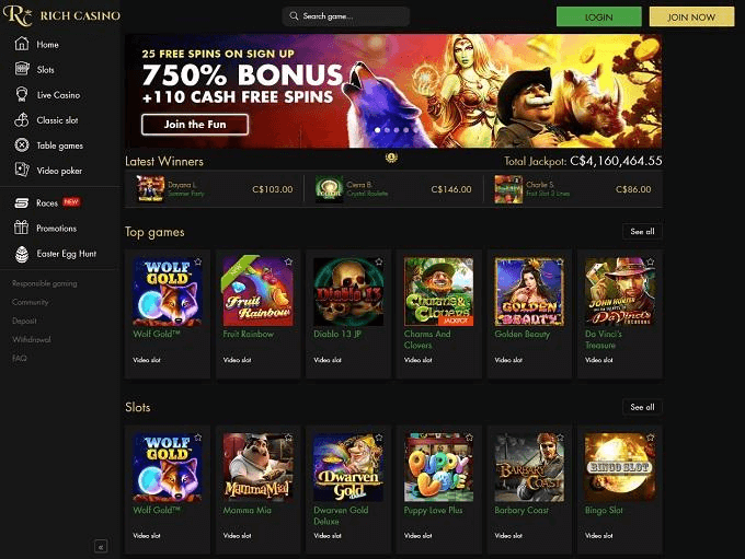 Rich casino online casino pokies games to play