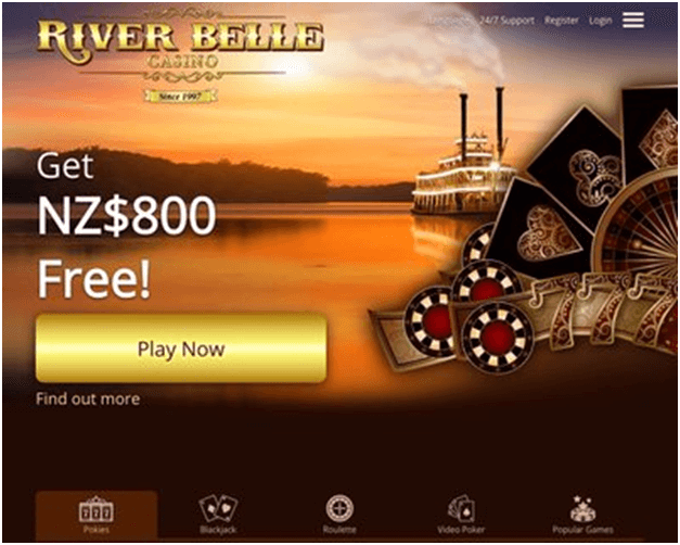 River Belle Casino NZ