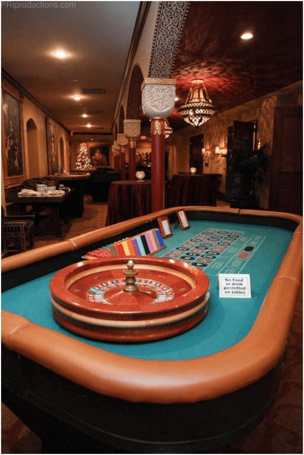 Roulette at Las Vegas $5 tables