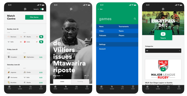 Rugby Pass App New Zealand