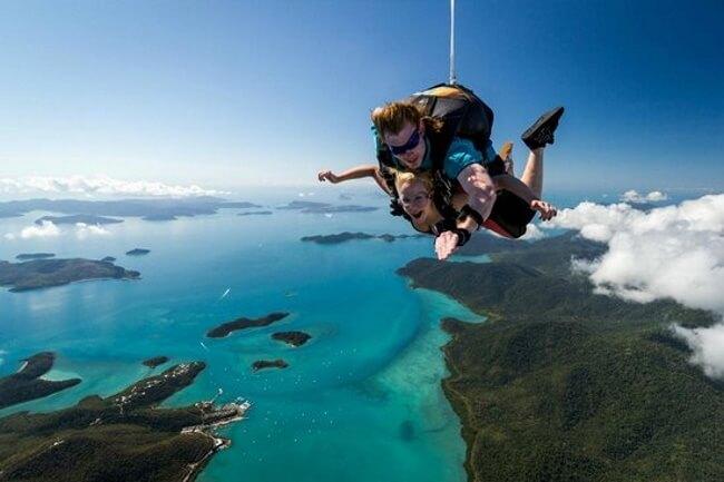 Skydive over the Whitsundays