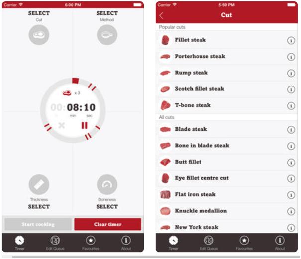 Steak Mate App
