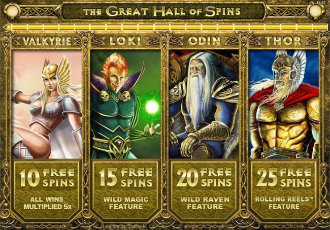 The Great Hall of Free Spins