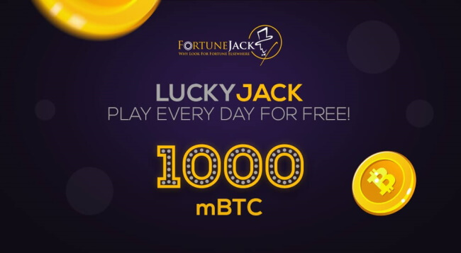 LuckyJack Promo with FortuneJack