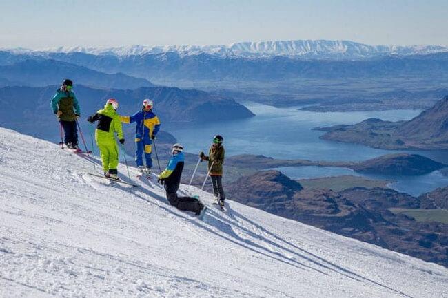 The ski season
