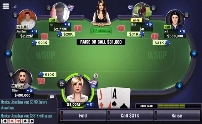 World Series of Poker- 5 Popular Poker Games