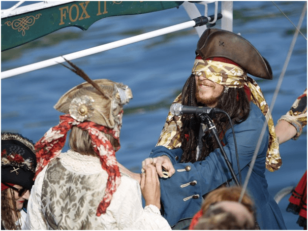 World's First Pastafarian Marriage