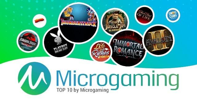 Microgaming -Top 5 Online Slot Gaming Manufacturers