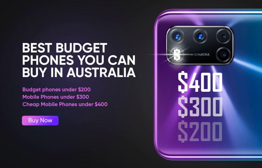 Best Budget Phones you can buy in 2020 in Australia