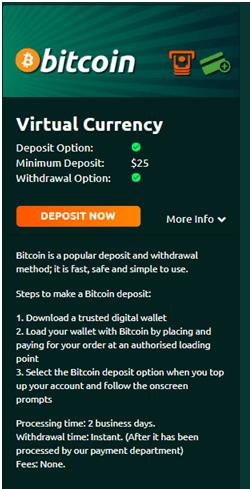 Bitcoin casinos AU