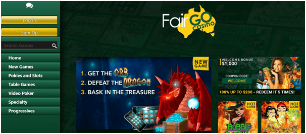 New games at online casinos
