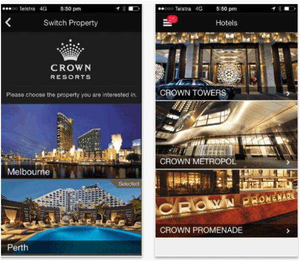 Crown Resort App
