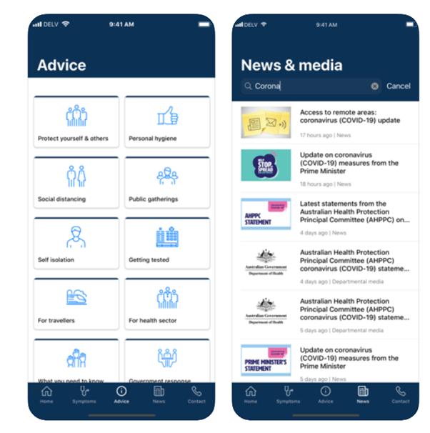 Coronavirus App free download