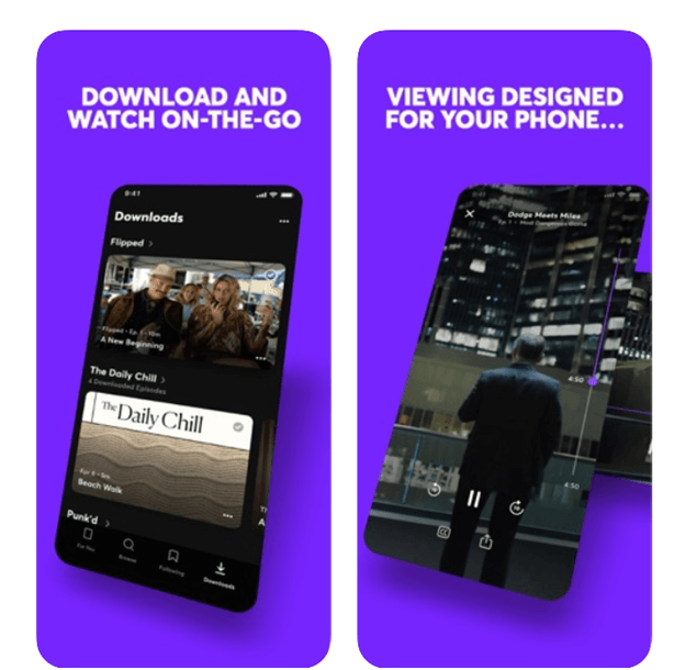 Quibi app for Android