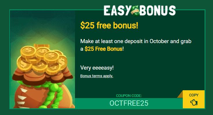 Fair go $25 free bonus