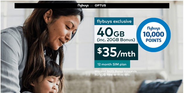 Flybuy-optus deals