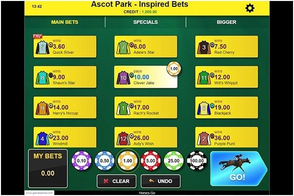Horses Go - Virtual race