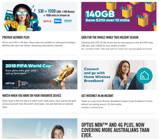 How to watch sports on Mobile with Optus plans