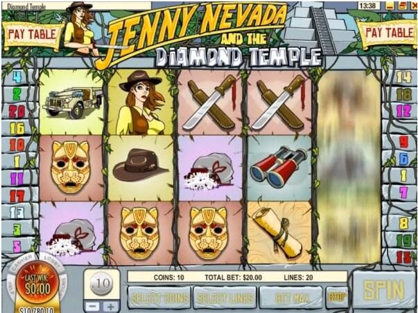Jenny Nevada pokies