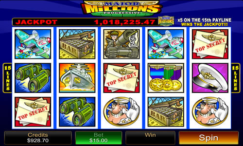 Major Millions Pokies - Click to Play