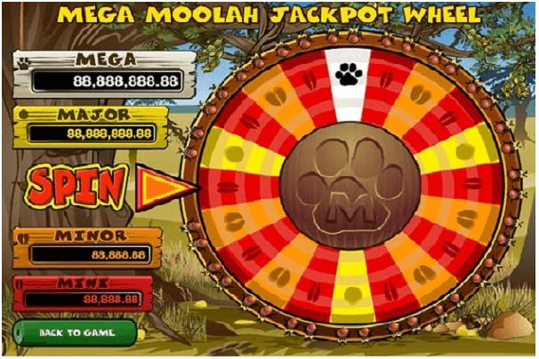 Mega Moolah- Progressive Jackpot