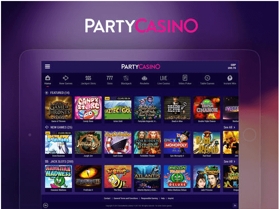 Party Casino android app