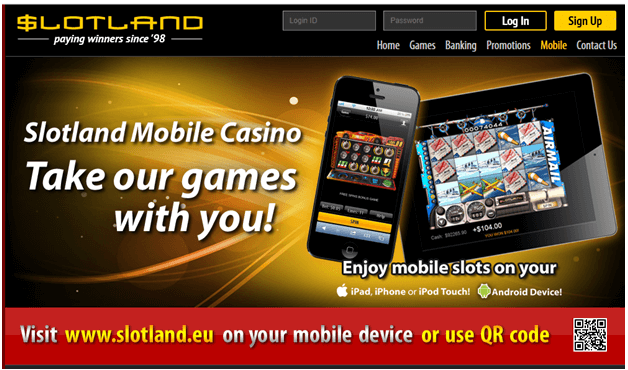 QR Codes at Mobile Casinos