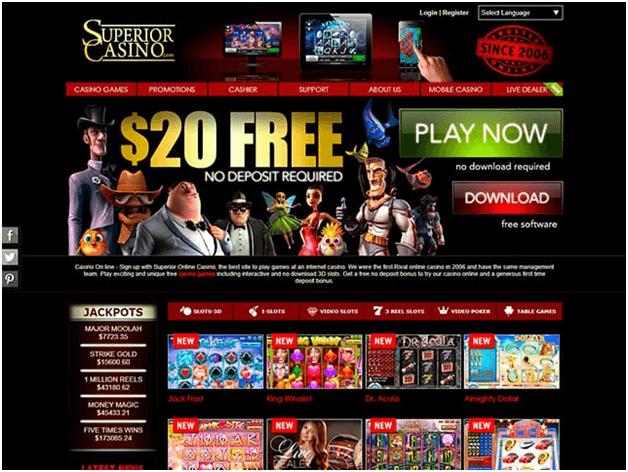 Superior Casino RTG casino