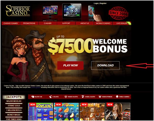 Superior casino download software