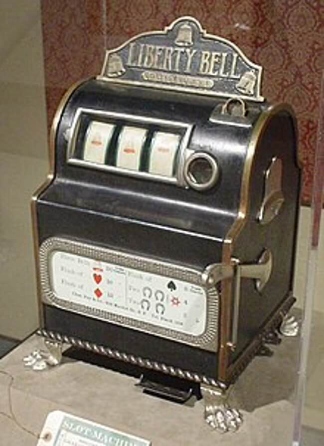 The history of pokies machines