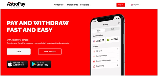Astropay online casinos