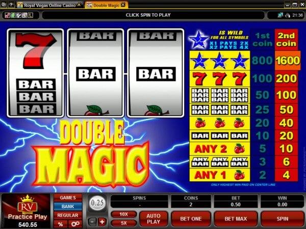 Double Magic Pokies - Click to Play