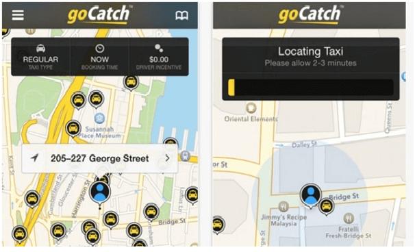 Go Catch App