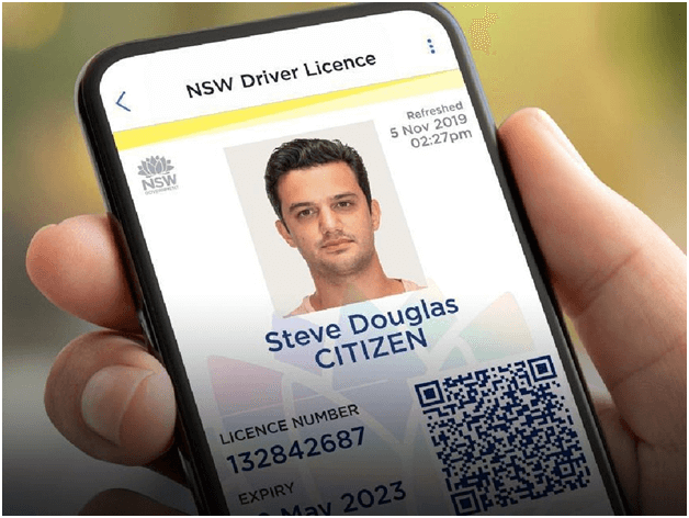 How to use smartphone as ID in NSW Australia?