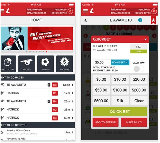 Ladbroke App