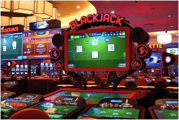 Blackjack and pokies on mobile