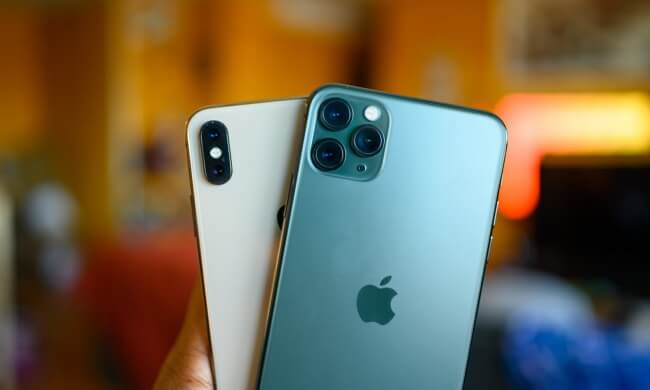 Performance difference between iPhone 11 Pro and iPhone XS