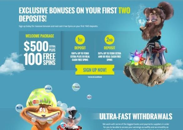 Exclusive Bonuses on your First Two Deposits