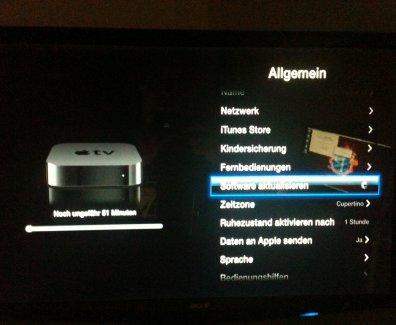 Apple TV Update iOS 5