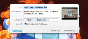 Tutorial Mac - Videmo Upload mit OS X Mountain Lion direkt aus dem Finder