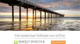Aktuell kostenlos: «Perfect Effects 8»