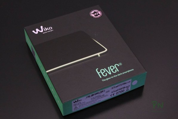 Wiko Fever 4G - the glow-in-the-dark smartphone