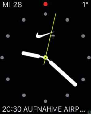 Apple Watch Serires 2 Nike+ Watchfaces 1