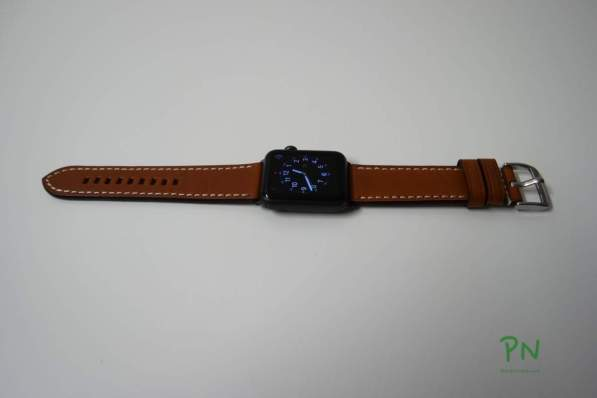 BandWerk Apple Watch Band - Hellbraun