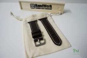 BandWerk Apple Watch Band - Dunkelbraun