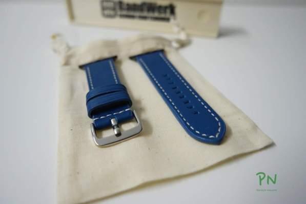 BandWerk Apple Watch Bänder - Türkisblau