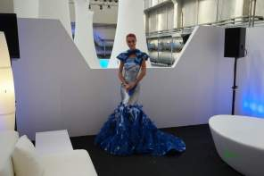 Butterfly Dress - Intel Event während der Mailänder Design Week